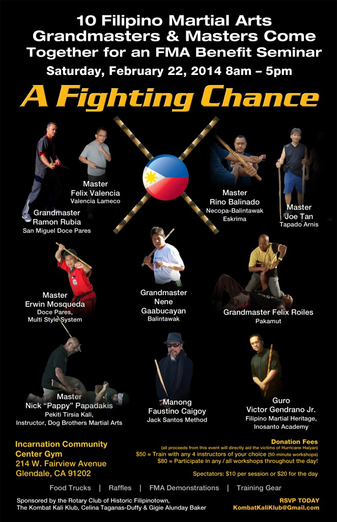 LADP's Master Erwin at A Fighting Chance: Filipino Martial Arts Seminar