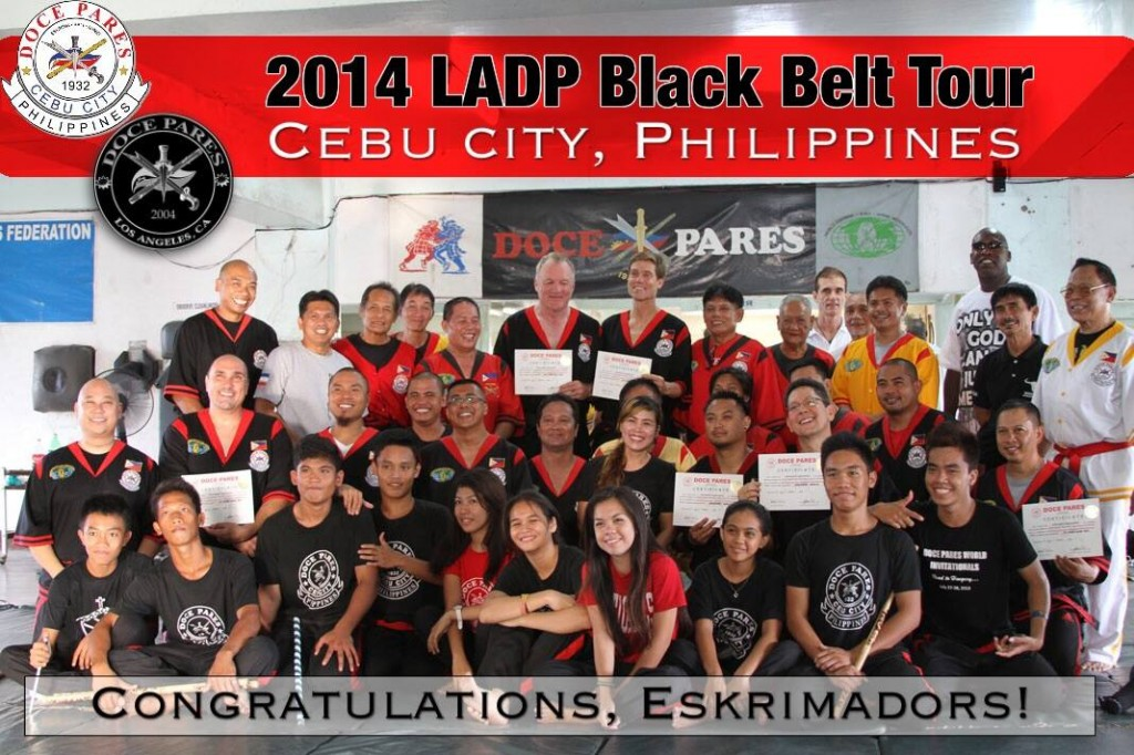 LADP Black Belt Tour 2014: Congratulations Eskrimadors!