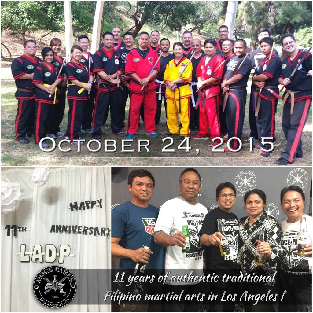 A Message from Master Erwin - 11th Annual Los Angeles Doce Pares Eskrima Anniversary