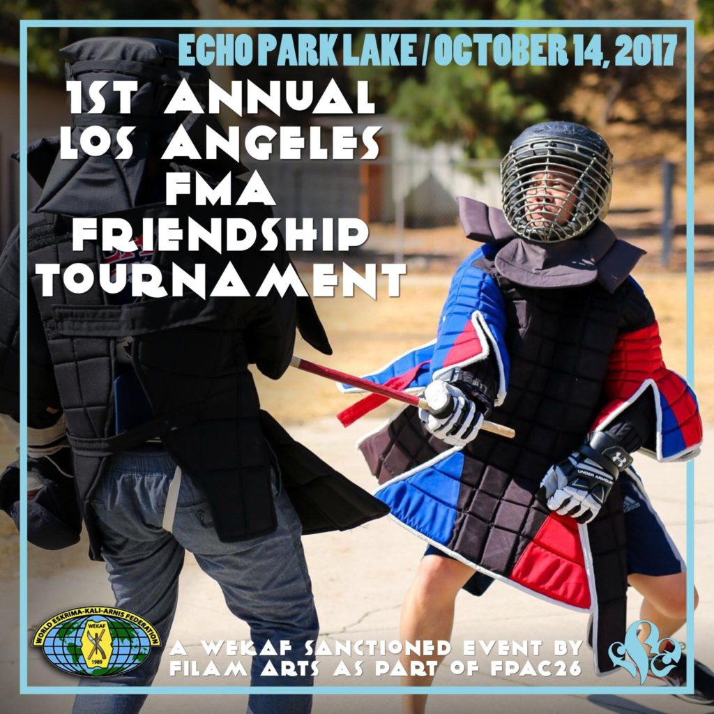 1st Annual Los Angeles Filipino Martial Arts Friendship Tournament